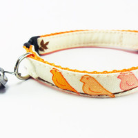 BIRDIES Cat Collar by GingersFriends on Etsy