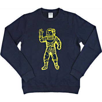 Billionaire Boys Club Astronaut Sweatshirt - Navy