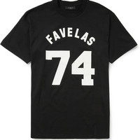 PRODUCT - Givenchy - Printed Cotton-Jersey T-shirt - 399227 | MR PORTER