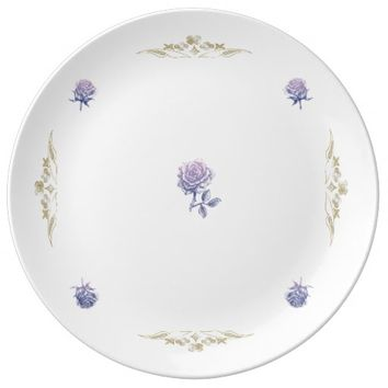 Purple n Gold Dinner Plate