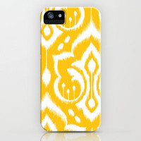 Ikat Damask iPhone Case by Patty Sloniger | Society6