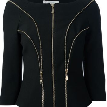 Versace Collection Zip Detailed Jacket