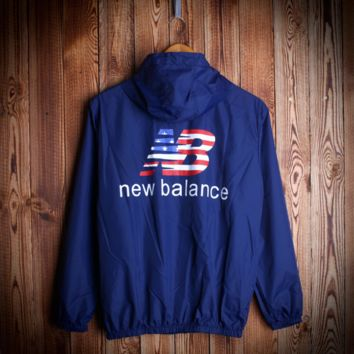 So Cool Unisex New Balance Windbraeker Coat Rashguard Jacket