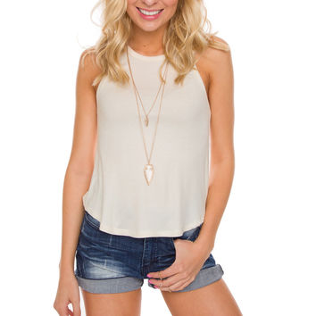 Irreplaceable Top - Ivory