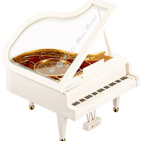 MusicBox Kingdom Musical Grand Piano Decorative Box