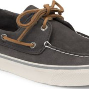 Sperry Top-Sider Bahama Washable 2-Eye Boat Shoe Graphite, Size 12M  Women's Shoes