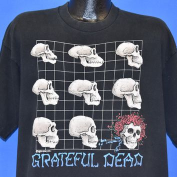 90s Grateful Dead Skull Evolution t-shirt XL