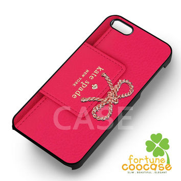 Kate spade pink wallet inspired -end for iPhone 6S case, iPhone 5s case, iPhone 6 case, iPhone 4S, Samsung S6 Edge