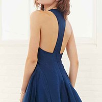 Keepsake Fallen Dress- Navy