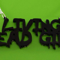 Living Dead Girl Acrylic Plastic Necklace - Rob Zombie