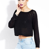 Cool Girl Cropped Sweater