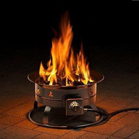 Fire Propane Pits Portable Outdoor Camping Fire Pit Gas Patio Heater New Free