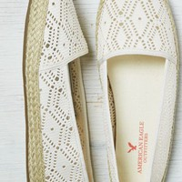AEO Women's Lace Espadrille (Natural)