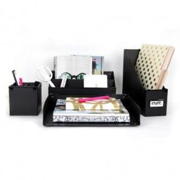 Black Frisco Desk Collection