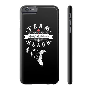 Team klaus Phone Case