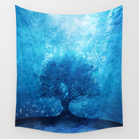 Songs from the sea. Wall Tapestry by Viviana Gonzalez