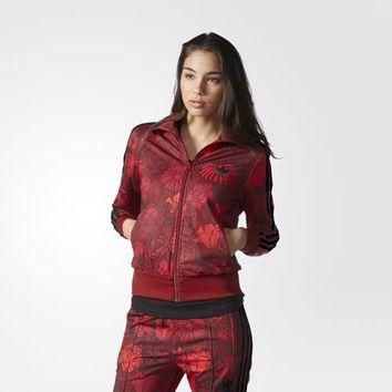 adidas Firebird Track Jacket - Red | adidas US