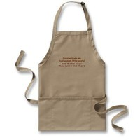 My Own Little World Aprons from Zazzle.com