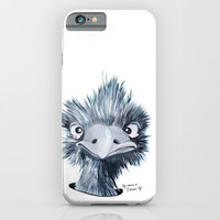 My name is EMU-ly iPhone & iPod Case by Emilia Jesenska