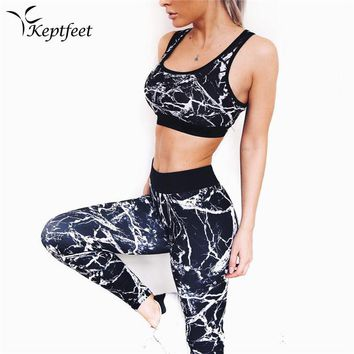 2PCS  Women's PUSH UP Sport Wear Vest Tank Top and Long Leggings Outfit Yoga Set FREE SHIPPING