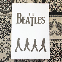 A5 Filofax Printable Beatles Bookmark