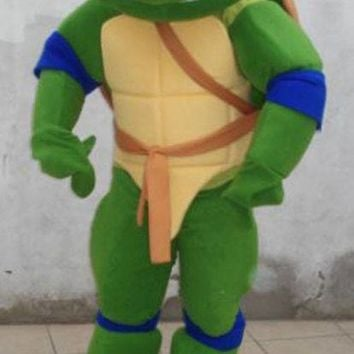 Turtle Mascot Costume Adult Character Costume 4 Color Optional Fast Shipping