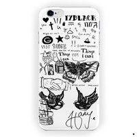 1D Harry Styles Tattoo Funny Art For iPhone 6 / 6 Plus Case