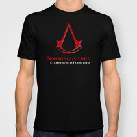 Assassin's creed nothing is true everything is permited Adult Tee T-shirt by Three Second