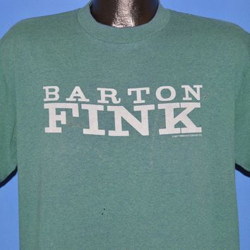 90s Barton Fink 1991 Movie Distressed t-shirt Large