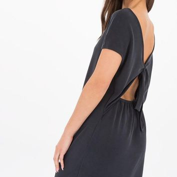 Soraya Open Back T-Shirt Dress