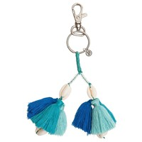 Shell Keychain Blue