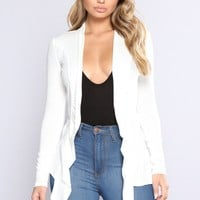 Official Girl Cardigan - Ivory