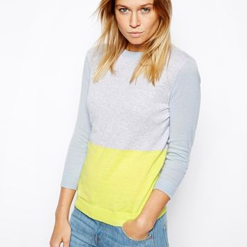 ASOS Jumper In Colourblock