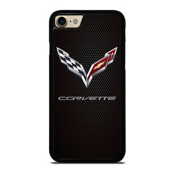 CORVETTE CHEVY ON HEXAGON CARBON Case for iPhone iPod Samsung Galaxy