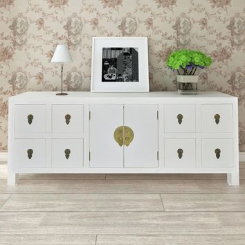 "White 48"" Sideboard Cabinet Console"