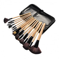 Professional 15 Colors Makeup Face Cream Concealer Palette + 24 PCS Cosmetic Brushes Kit Set