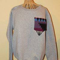 Sweatshirt with Pendleton Wool Pocket