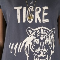 Maison Scotch Printed T Shirt -  - Farfetch.com