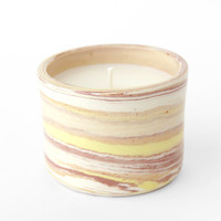 Oui Scented Soy Candle - Desert/Sun/Rose Marble « Pour Porter
