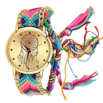 Friendship Dream Catcher Watch Handmade Bracelet