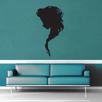 Elsa Silhouette - No 1 - Wall Decal$8.95