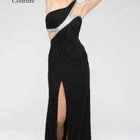 KC14701 One Shoulder Prom Dress by Kari Chang Couture
