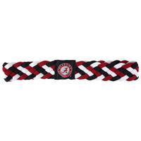 Alabama Crimson Tide NCAA Braided Head Band 6 Braid