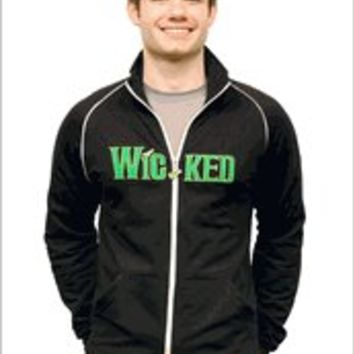Wicked the Broadway Musical - Logo Track Jacket