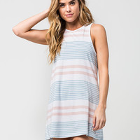 RHYTHM Strokes Tunic Dress | Short Dresses