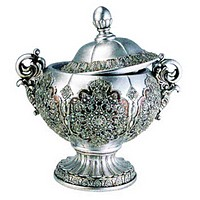Silver Persian Decorative Box
