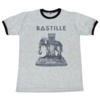 Bastille alternative rock band concert T-Shirt / GV74.4 size M