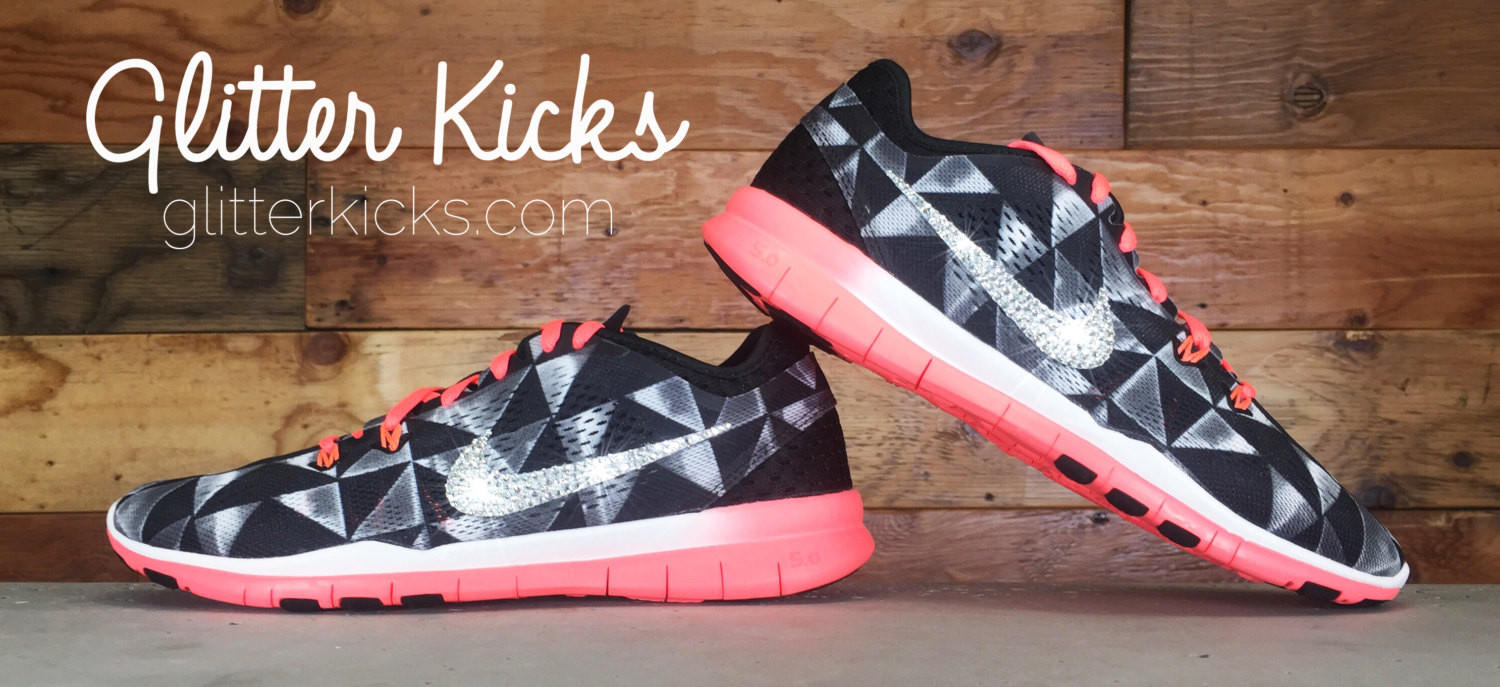 711b934e625ba Nike Free Run TR Fit 5 - Crystallized from Glitter Kicks