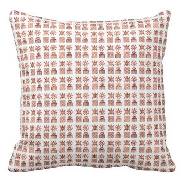 "Adinkra symbols Throw Pillow 20"" x 20"""