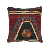 Boho Pyramid Decorative Pillow
